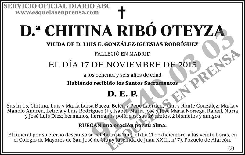 Chitina Ribó Oteyza